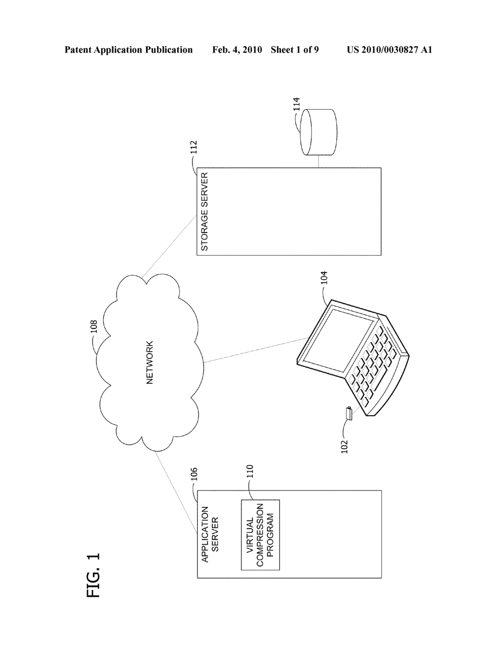 DISTRIBUTED VIRTUAL STORAGE OF PORTABLE MEDIA FILES - diagram, schematic, and image 02