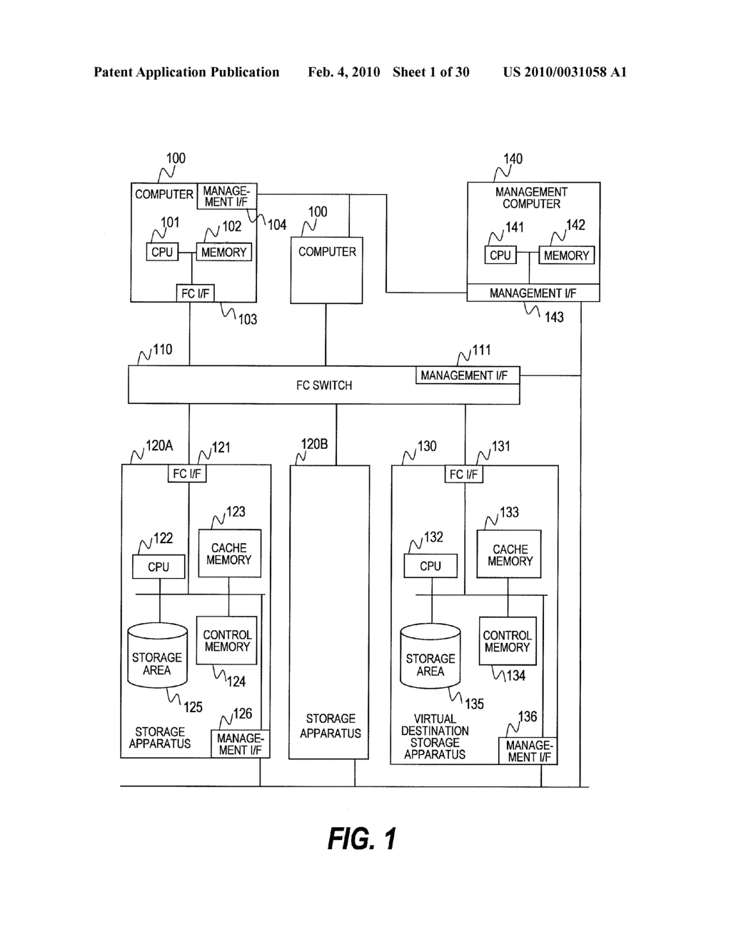 Computer System, Storage System and Management Computer for Backing Up and Restore Encryption Key for Storage System Incorporating Therein a Stored Data Encryption Function - diagram, schematic, and image 02