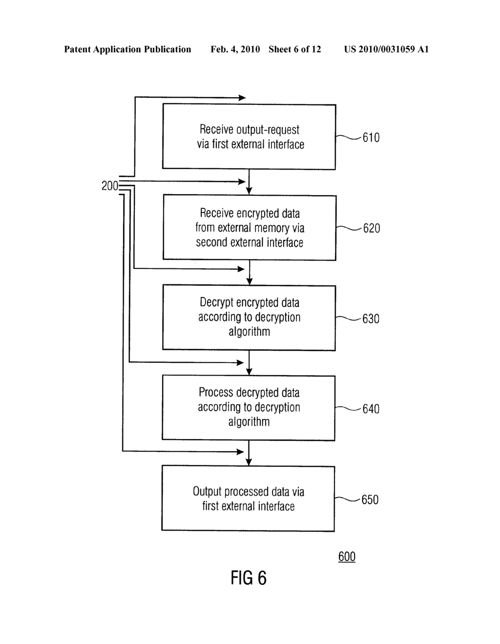 SECURITY DEVICE, SECURE MEMORY SYSTEM AND METHOD USING A SECURITY DEVICE - diagram, schematic, and image 07