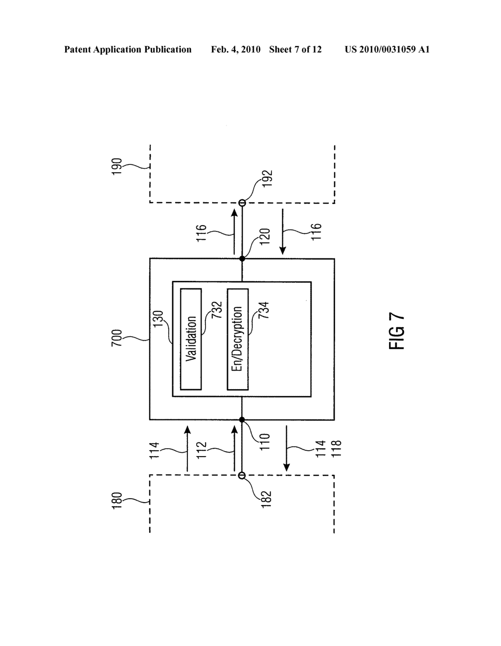 SECURITY DEVICE, SECURE MEMORY SYSTEM AND METHOD USING A SECURITY DEVICE - diagram, schematic, and image 08