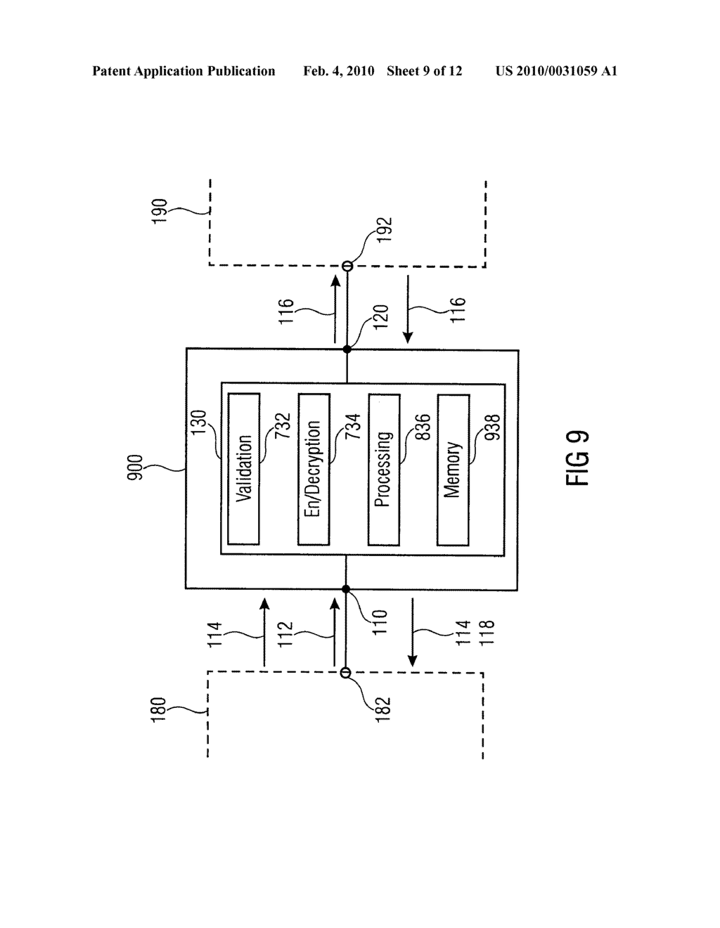 SECURITY DEVICE, SECURE MEMORY SYSTEM AND METHOD USING A SECURITY DEVICE - diagram, schematic, and image 10