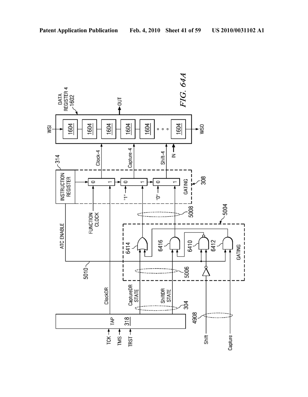 IEEE 1149.1 AND P1500 TEST INTERFACES COMBINED CIRCUITS AND PROCESSES - diagram, schematic, and image 42