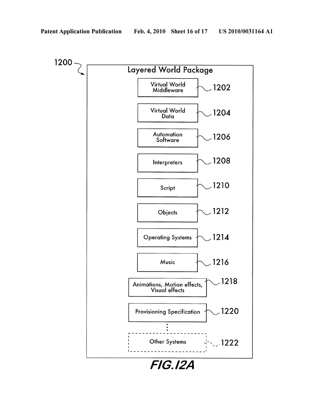 METHOD FOR PROVIDING A VIRTUAL WORLD LAYER - diagram, schematic, and image 17