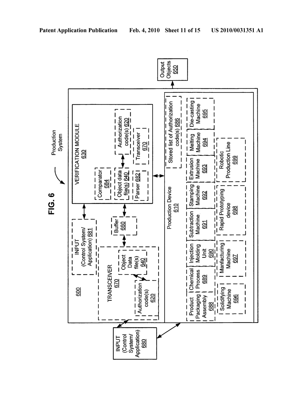 Security-activated production device - diagram, schematic, and image 12