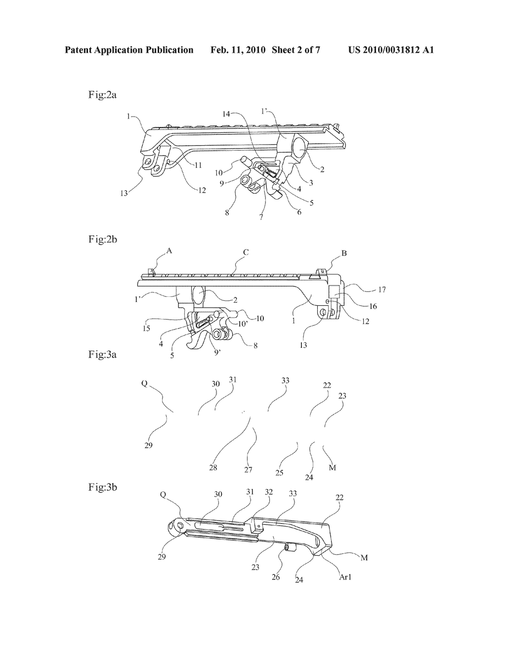DELAYED BLOWBACK FIREARMS WITH NOVEL MECHANISMS FOR CONTROL OF RECOIL AND MUZZLE CLIMB - diagram, schematic, and image 03