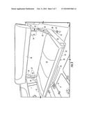 FOLDING SEAT WITH MOVABLE BACKREST diagram and image