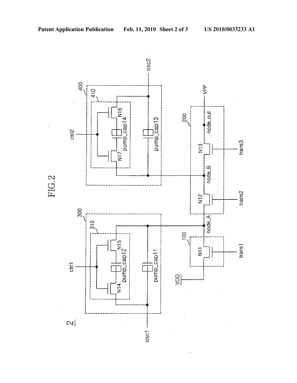 PUMPING VOLTAGE GENERATING CIRCUIT AND SEMICONDUCTOR MEMORY APPARATUS USING THE SAME - diagram, schematic, and image 03