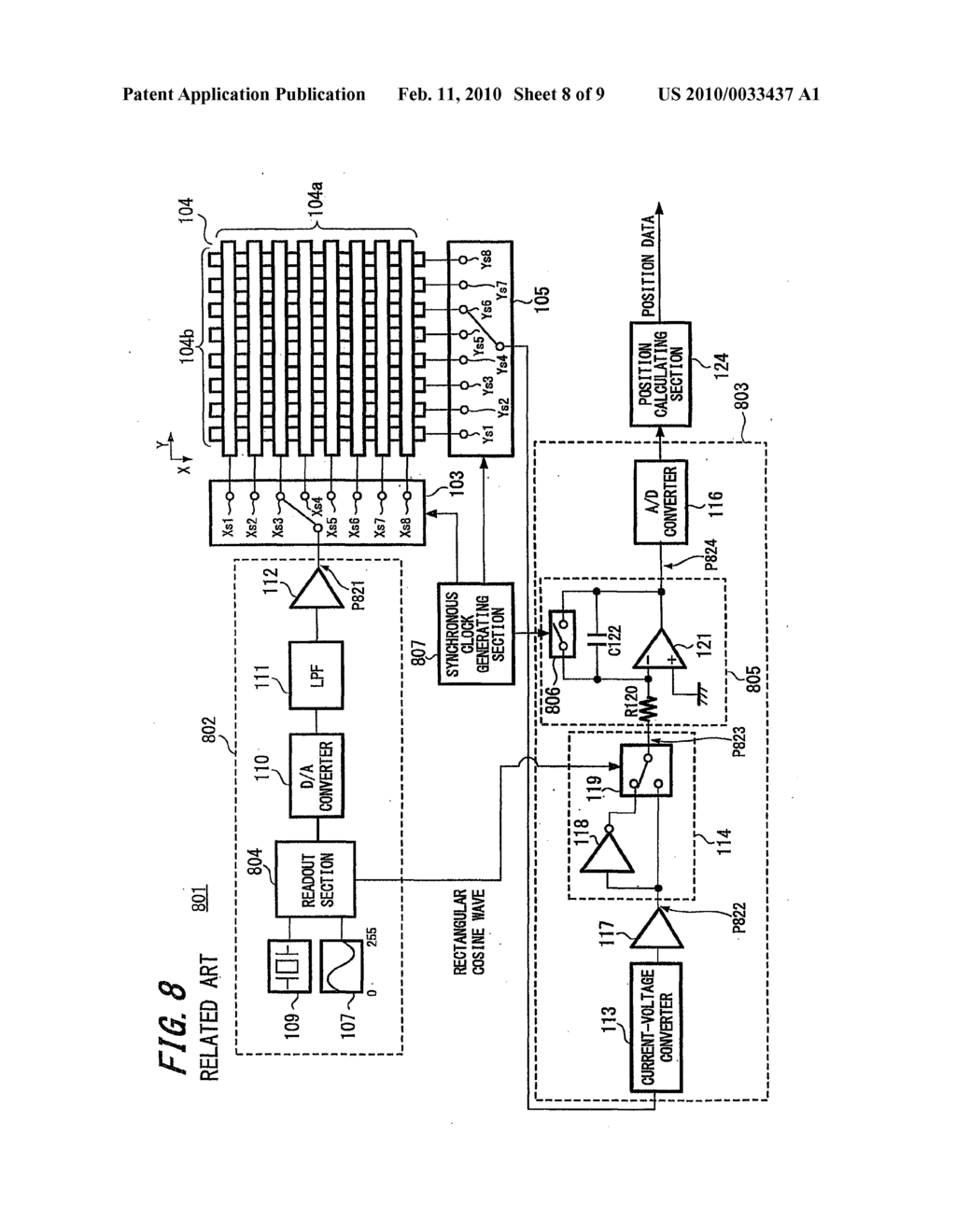 POSITION DETECTING DEVICE AND POSITION DETECTING METHOD - diagram, schematic, and image 09