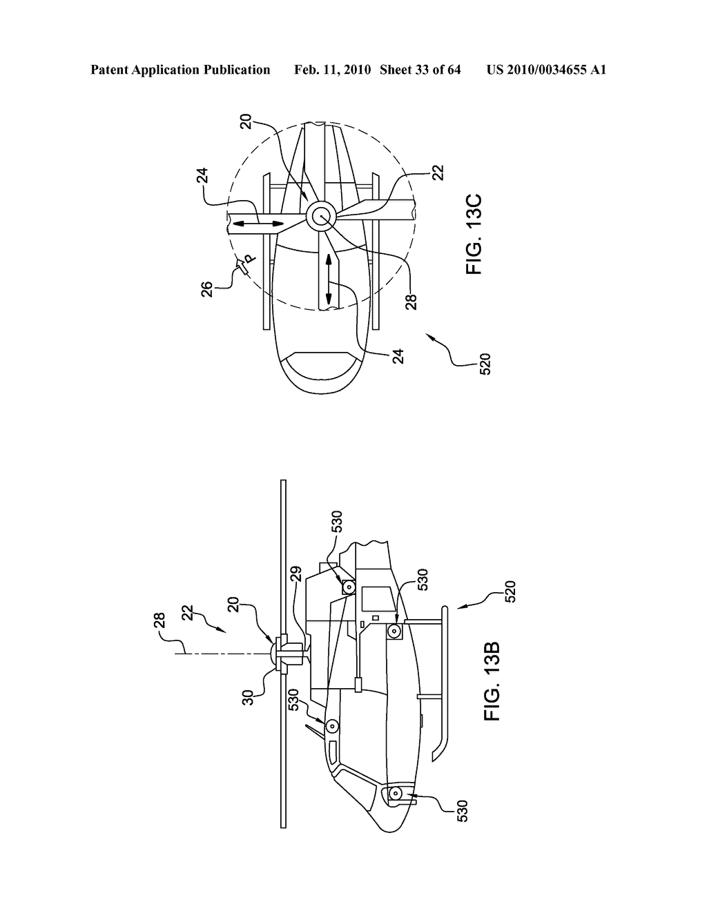 HELICOPTER HUB MOUNTED VIBRATION CONTROL AND CIRCULAR FORCE GENERATION SYSTEMS FOR CANCELING VIBRATIONS - diagram, schematic, and image 34
