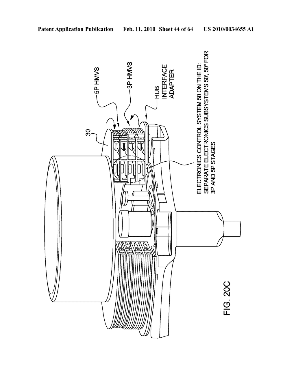 HELICOPTER HUB MOUNTED VIBRATION CONTROL AND CIRCULAR FORCE GENERATION SYSTEMS FOR CANCELING VIBRATIONS - diagram, schematic, and image 45