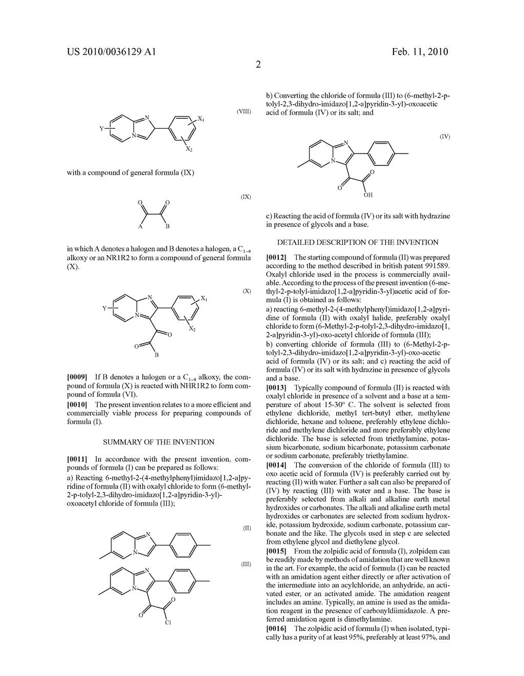 PROCESS FOR THE PREPARATION OF IMIDAZOPYRIDINES - diagram, schematic, and image 03