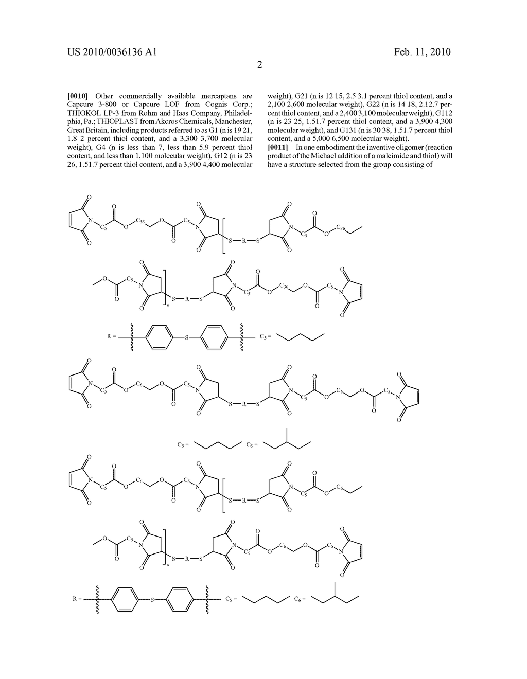 Maleimide Containing Ester and Sulfide Functionalities - diagram, schematic, and image 03