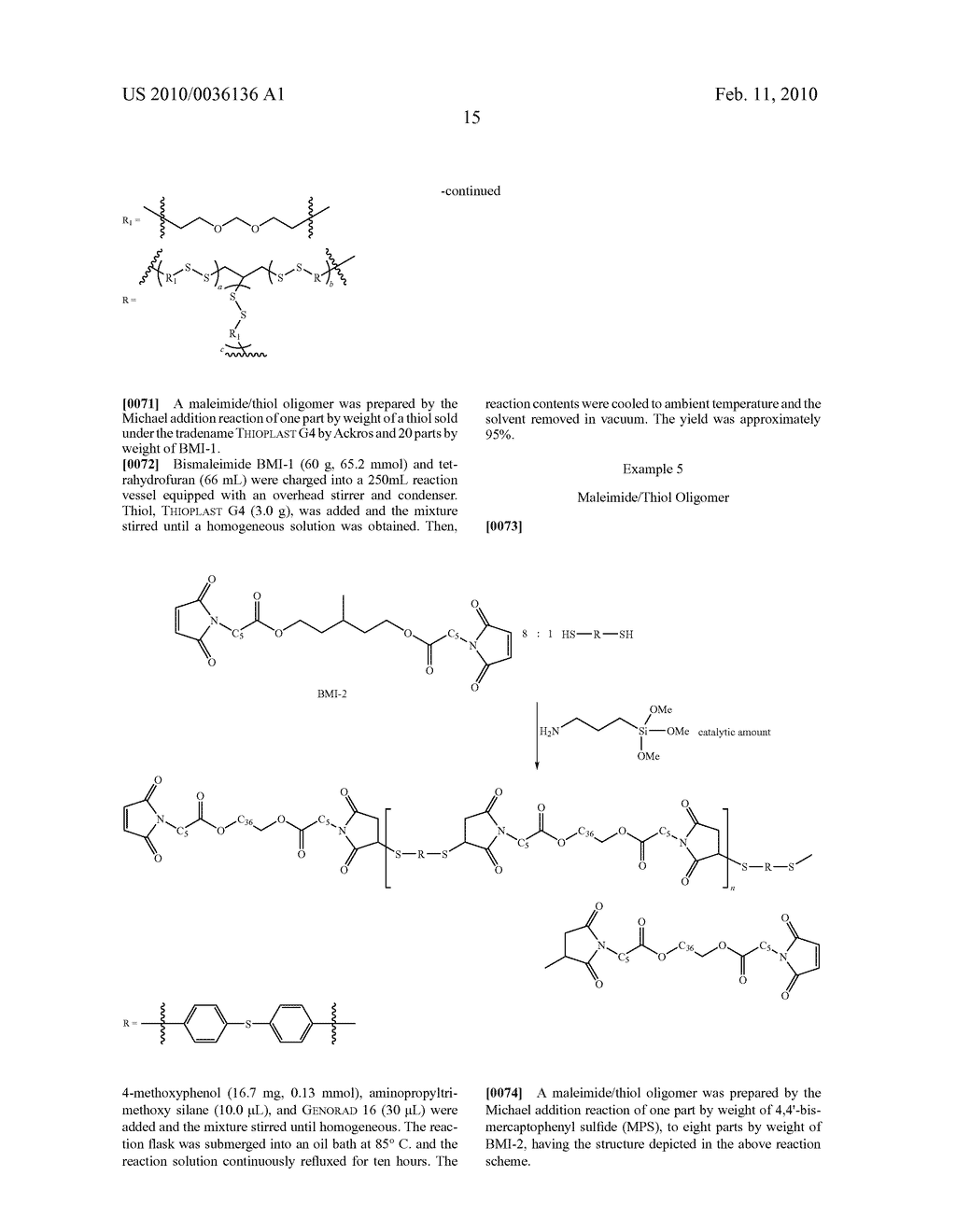 Maleimide Containing Ester and Sulfide Functionalities - diagram, schematic, and image 16