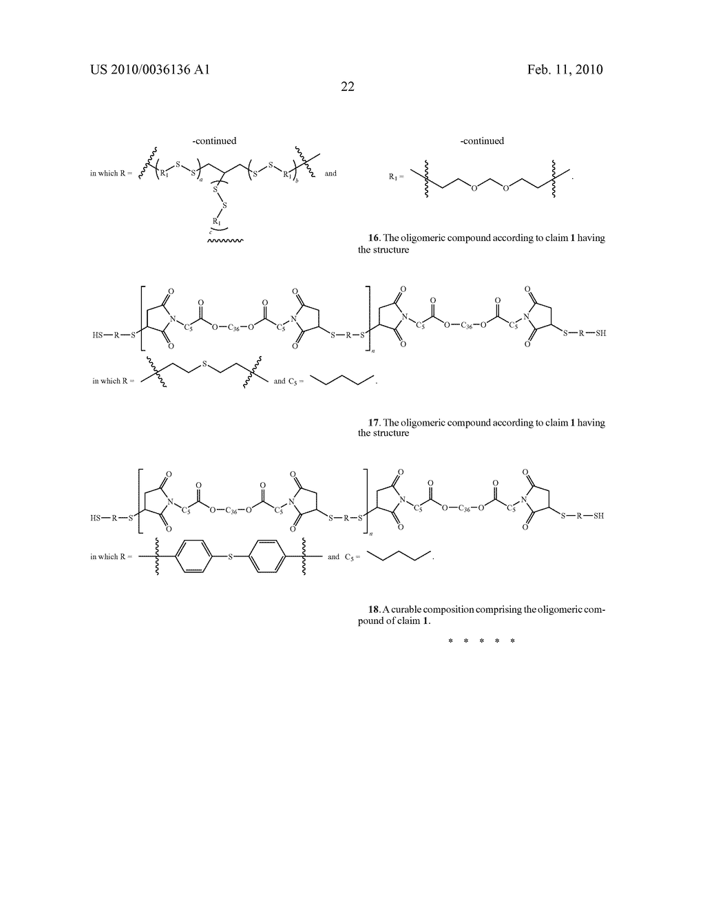 Maleimide Containing Ester and Sulfide Functionalities - diagram, schematic, and image 23