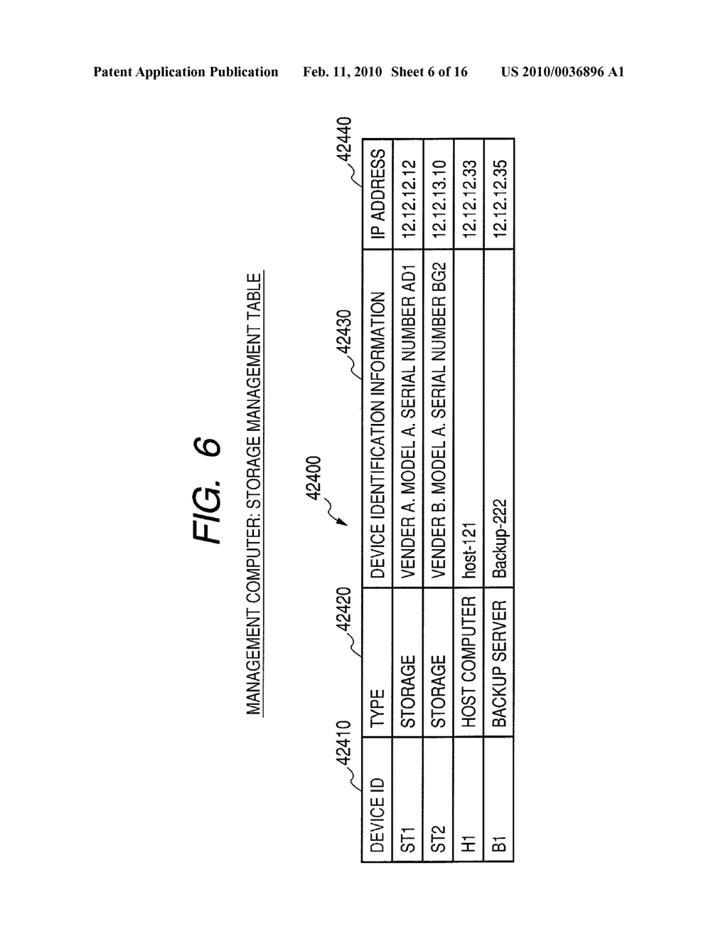 Computer System and Method of Managing Backup of Data - diagram, schematic, and image 07