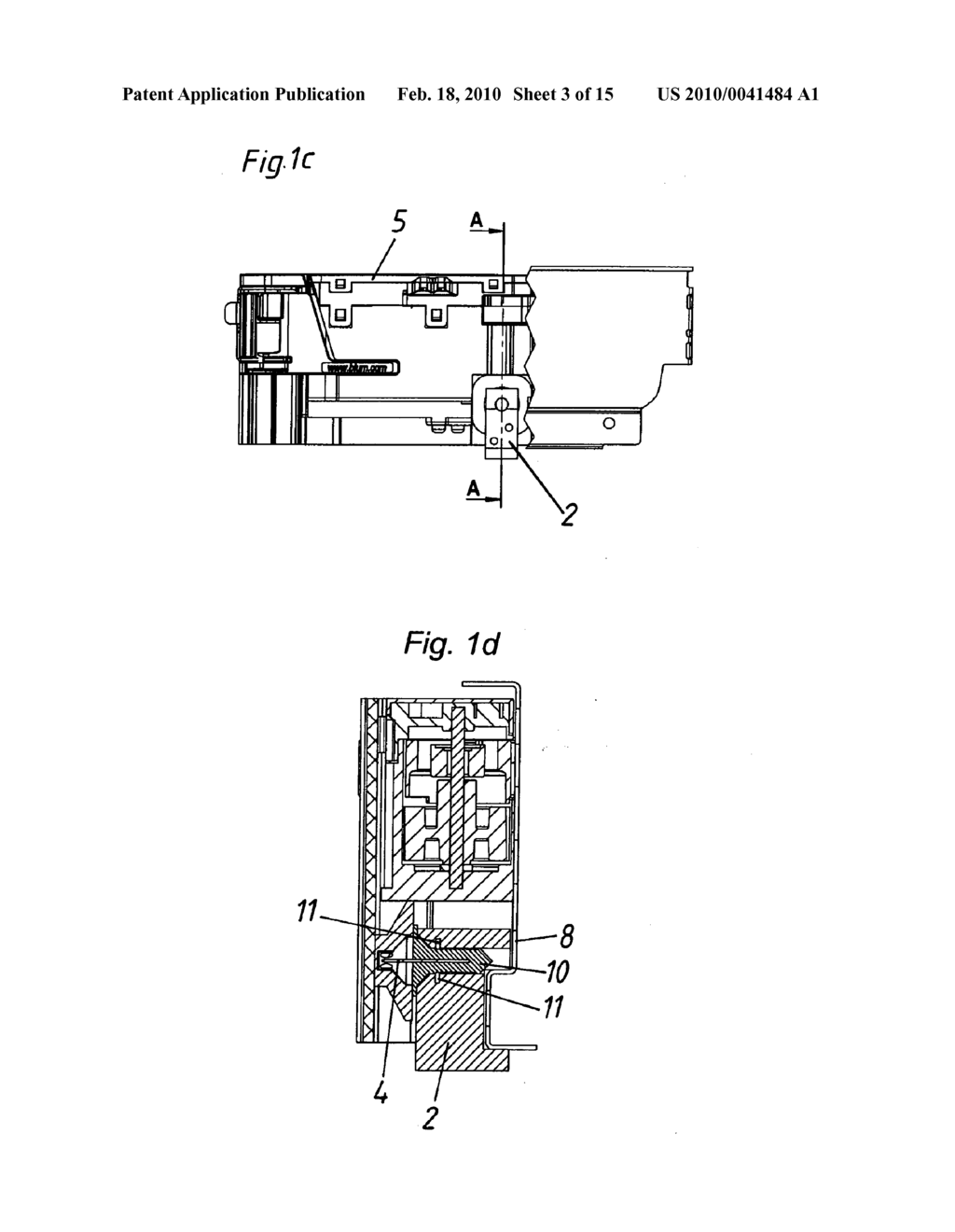 COUPLING FOR A MOVABLE PART OF A PIECE OF FURNITURE - diagram, schematic, and image 04