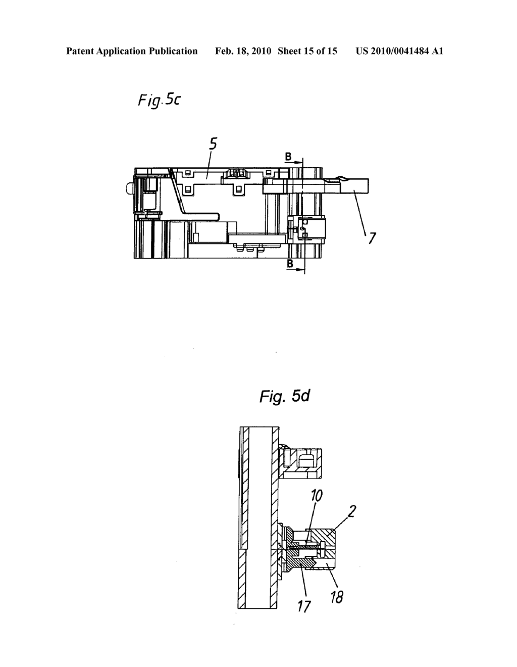 COUPLING FOR A MOVABLE PART OF A PIECE OF FURNITURE - diagram, schematic, and image 16
