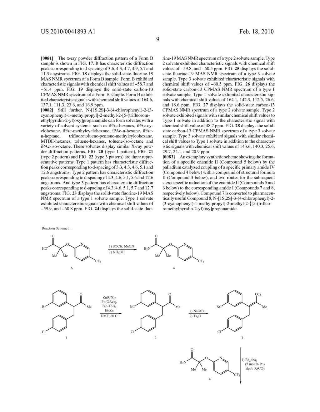 FORMATION OF TETRA-SUBSTITUTED ENAMIDES AND STEREOSELECTIVE REDUCTION THEREOF - diagram, schematic, and image 38