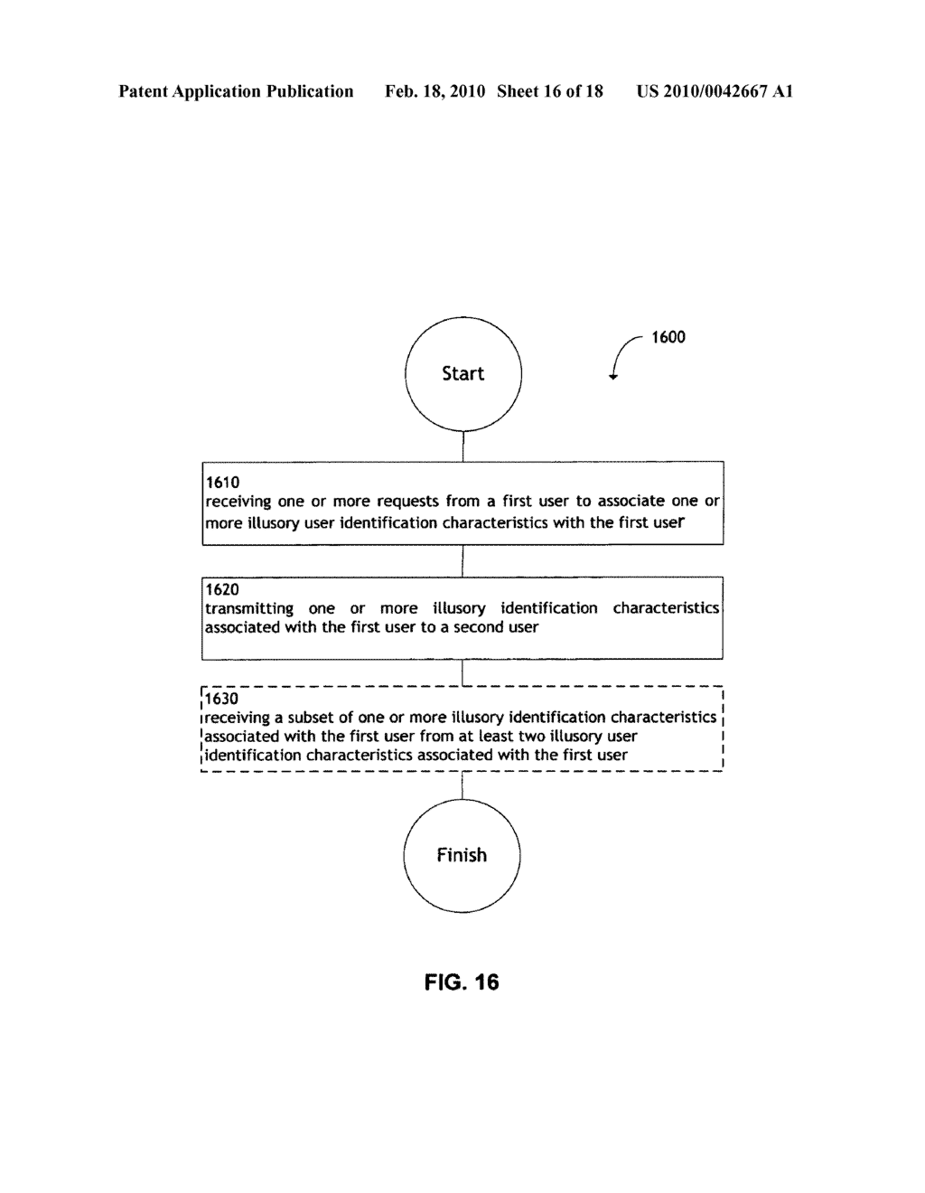 System and method for transmitting illusory identification characteristics - diagram, schematic, and image 17