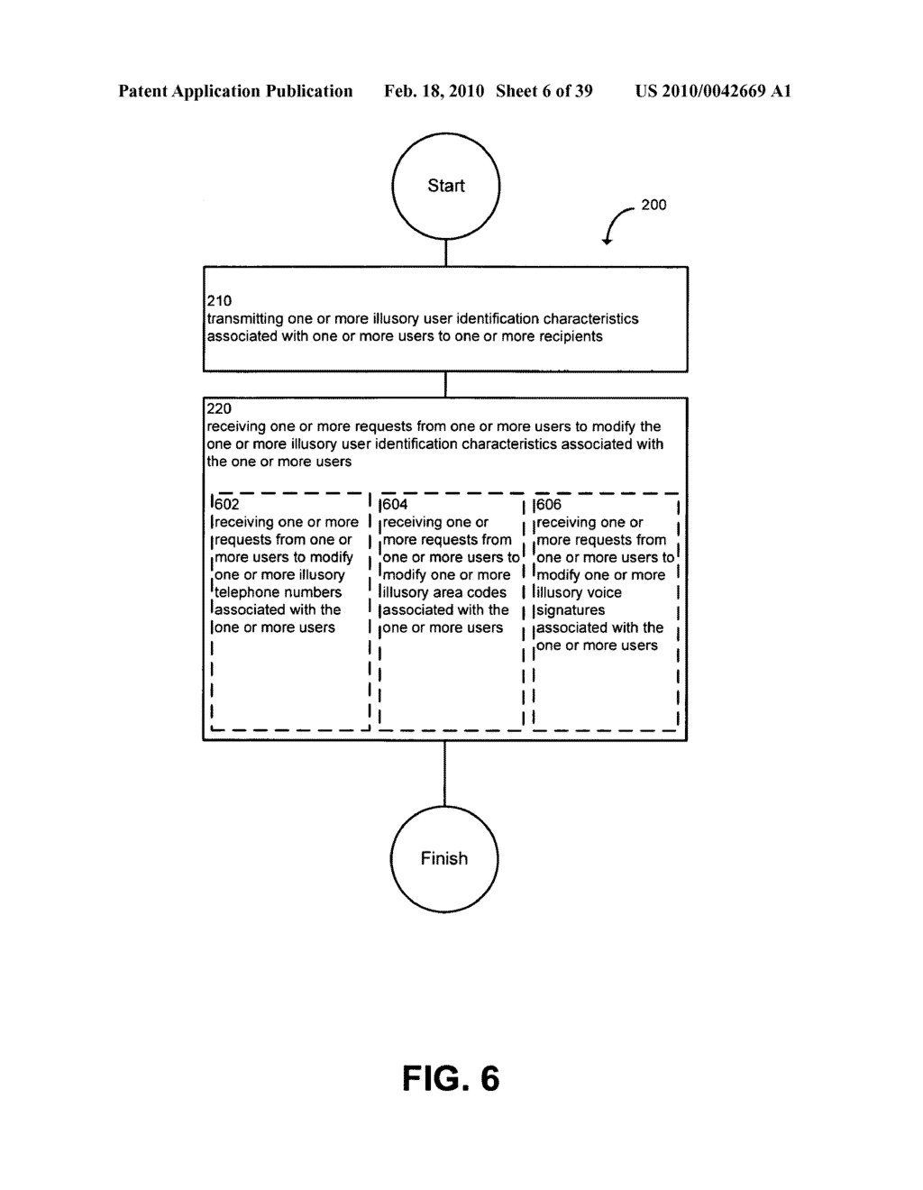 System and method for modifying illusory user identification characteristics - diagram, schematic, and image 07