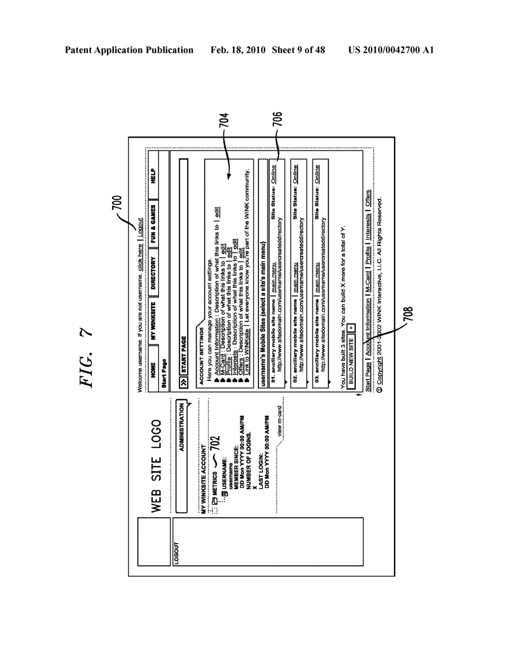 Method, Apparatus and System for Management of Information Content for Enhanced Accessibility Over Wireless Communication Networks - diagram, schematic, and image 10