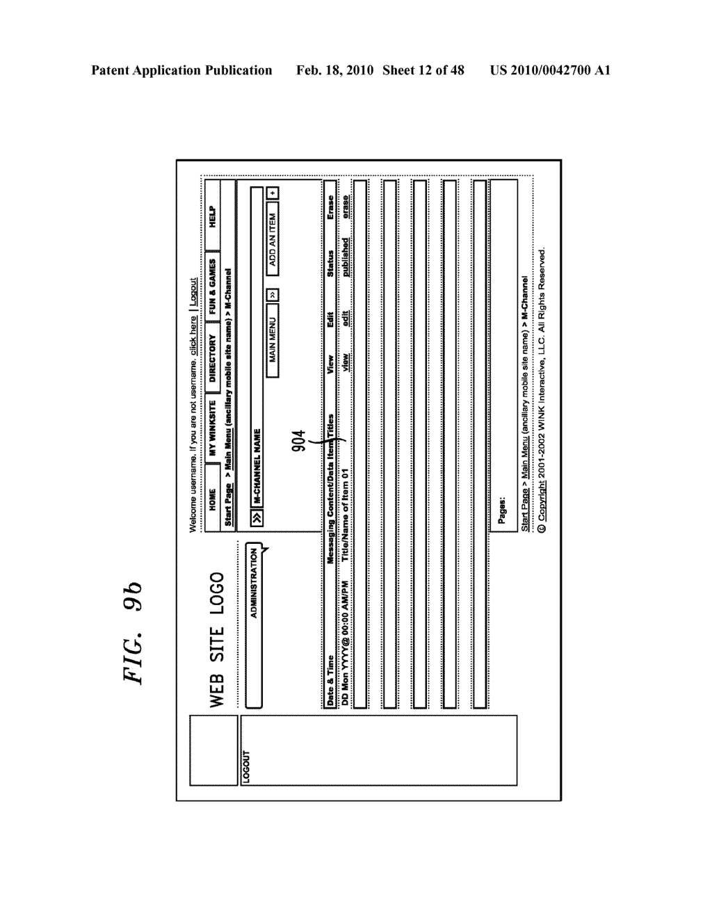 Method, Apparatus and System for Management of Information Content for Enhanced Accessibility Over Wireless Communication Networks - diagram, schematic, and image 13