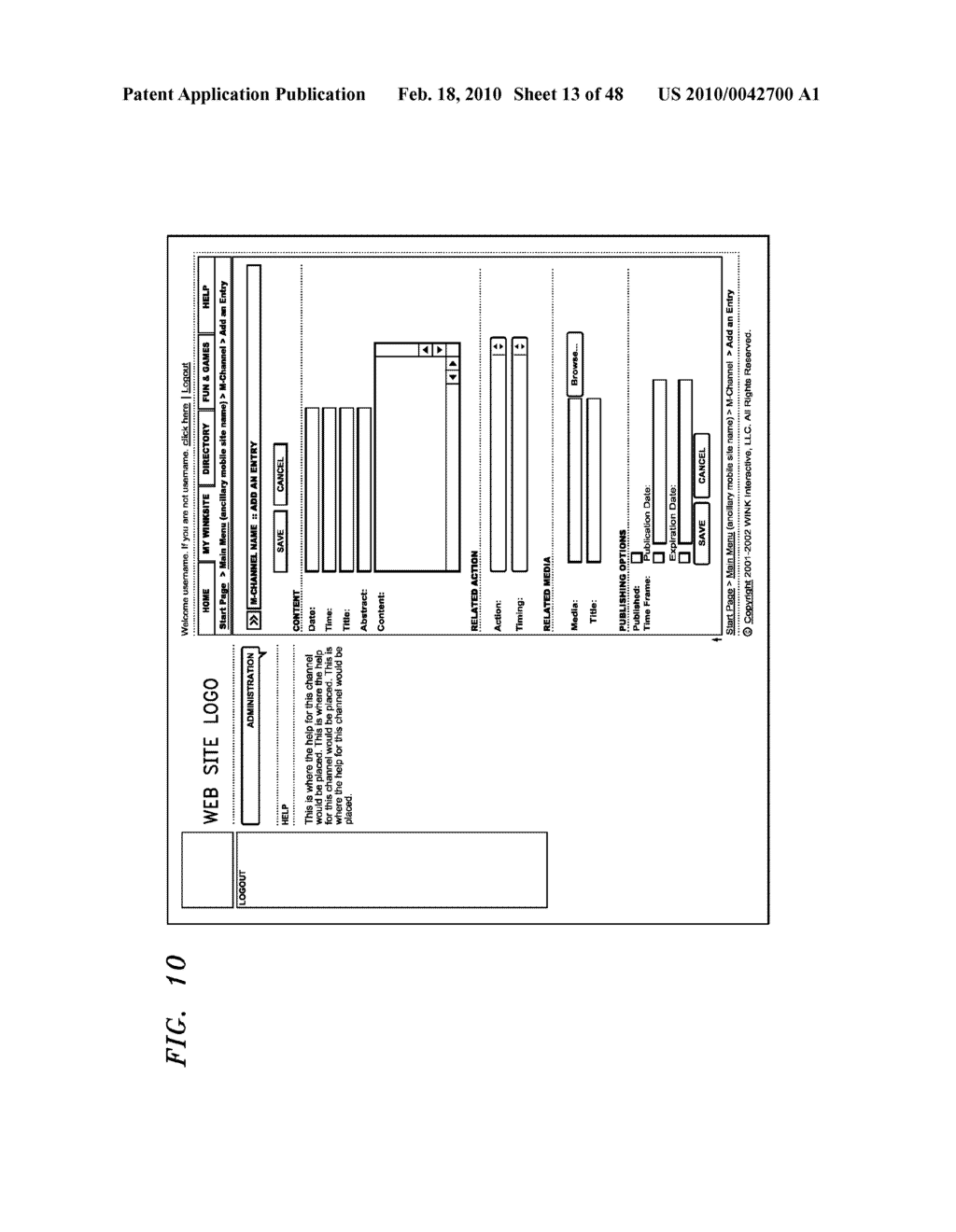 Method, Apparatus and System for Management of Information Content for Enhanced Accessibility Over Wireless Communication Networks - diagram, schematic, and image 14