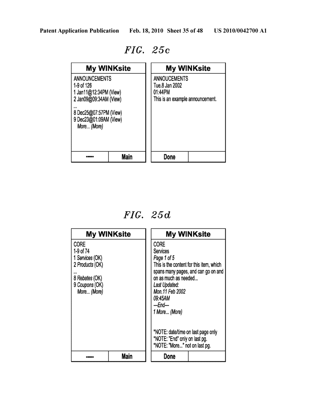 Method, Apparatus and System for Management of Information Content for Enhanced Accessibility Over Wireless Communication Networks - diagram, schematic, and image 36