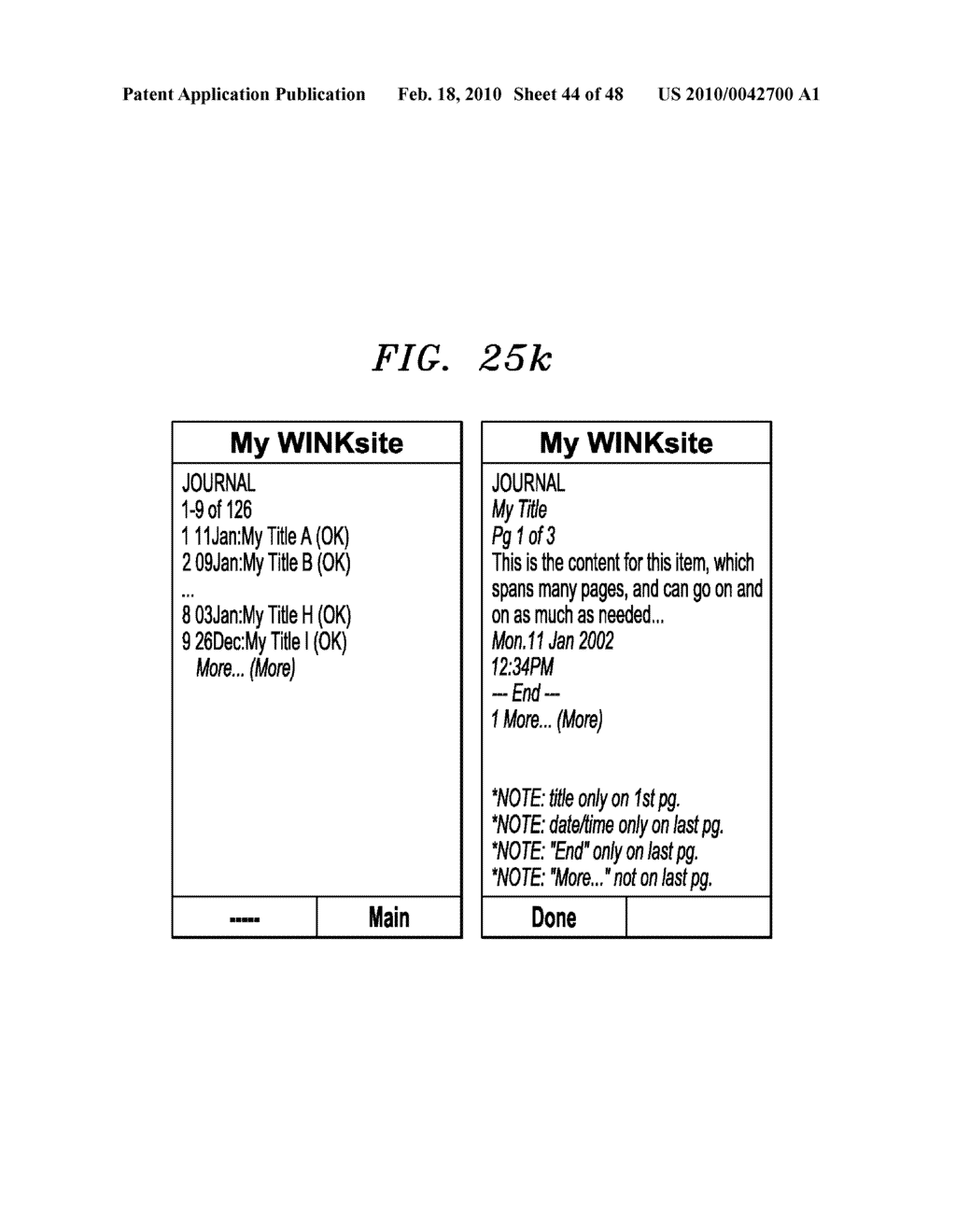 Method, Apparatus and System for Management of Information Content for Enhanced Accessibility Over Wireless Communication Networks - diagram, schematic, and image 45