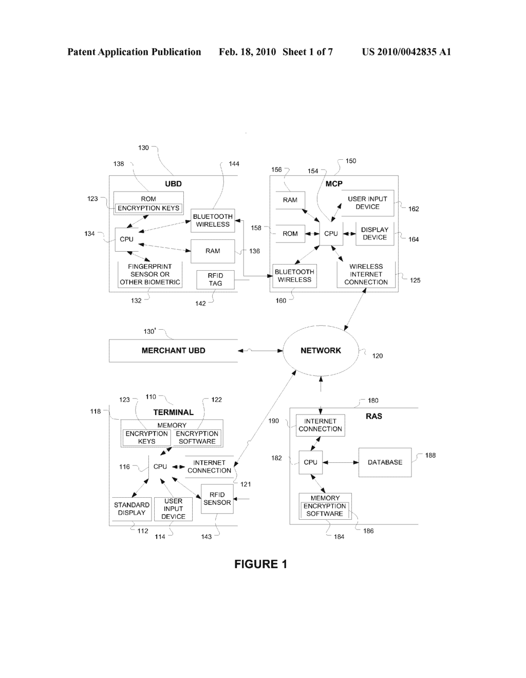 SYSTEM AND METHOD FOR PERMISSION CONFIRMATION BY TRANSMITTING A SECURE REQUEST THROUGH A CENTRAL SERVER TO A MOBILE BIOMETRIC DEVICE - diagram, schematic, and image 02