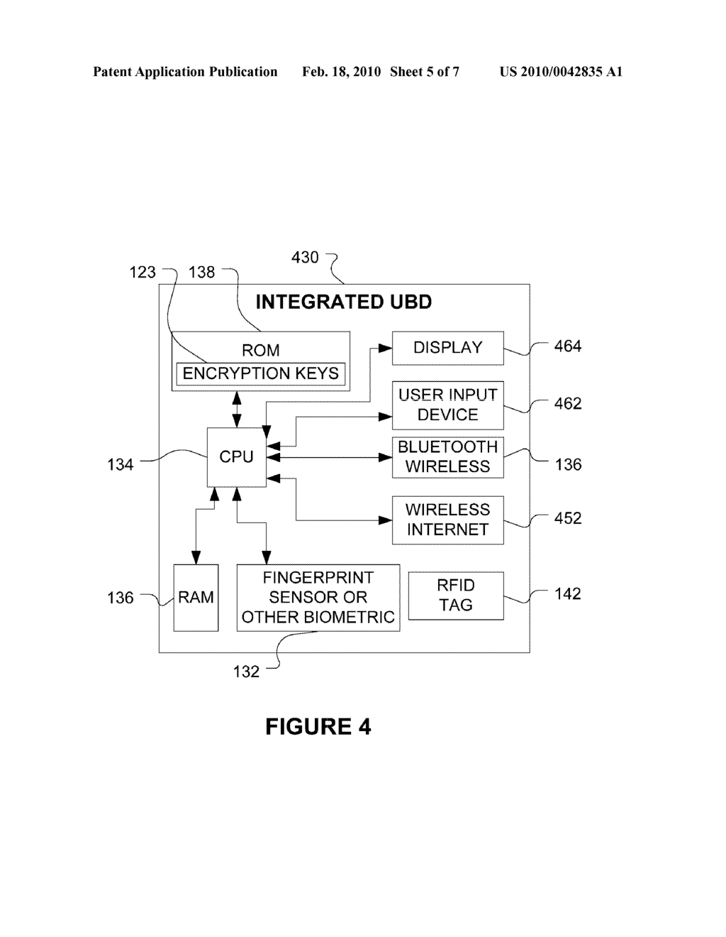SYSTEM AND METHOD FOR PERMISSION CONFIRMATION BY TRANSMITTING A SECURE REQUEST THROUGH A CENTRAL SERVER TO A MOBILE BIOMETRIC DEVICE - diagram, schematic, and image 06