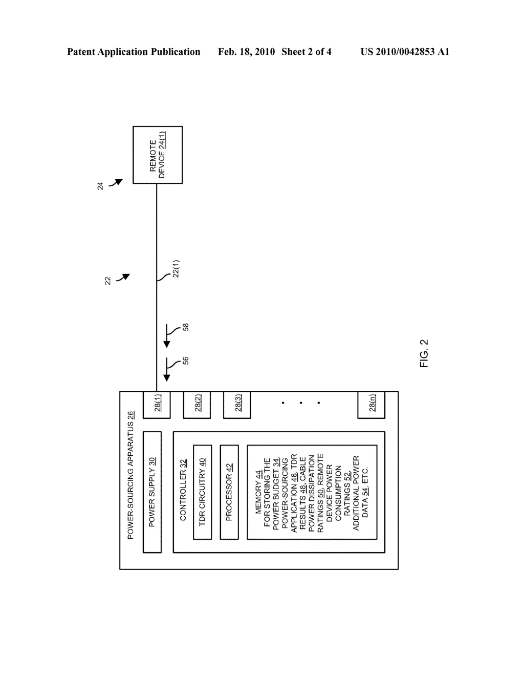 METHODS AND APPARATUS FOR PROVISIONING PHANTOM POWER TO REMOTE DEVICES - diagram, schematic, and image 03