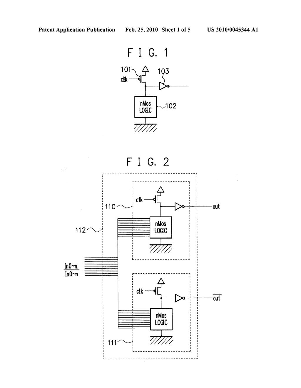 DUAL RAIL DOMINO CIRCUIT, DOMINO CIRCUIT, AND LOGIC CIRCUIT - diagram,  schematic, and image 02