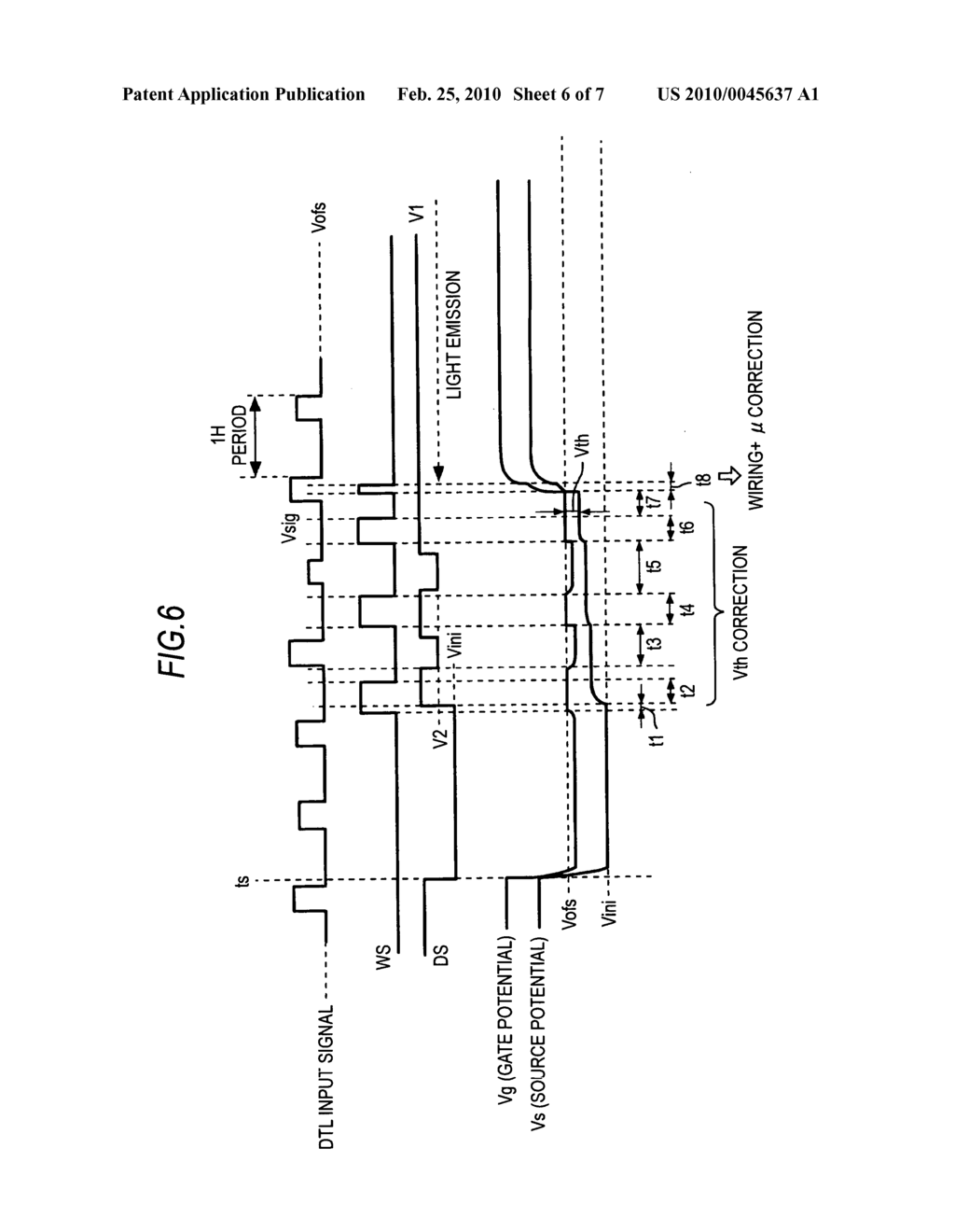 Display device and display drive method - diagram, schematic, and image 07