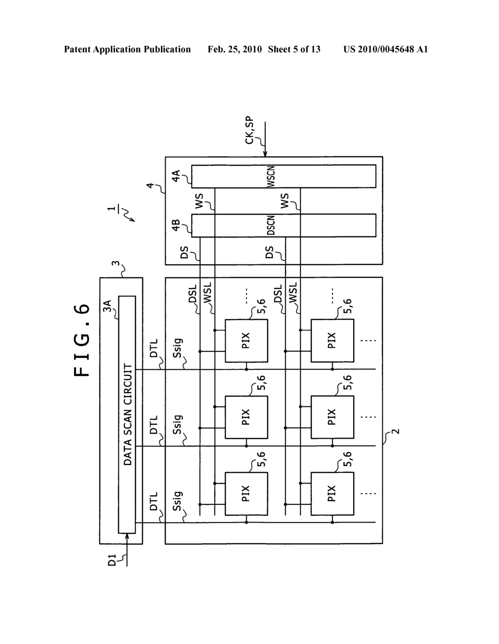 Image display device and driving method of image display device - diagram, schematic, and image 06