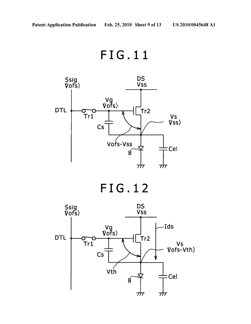 Image display device and driving method of image display device - diagram, schematic, and image 10