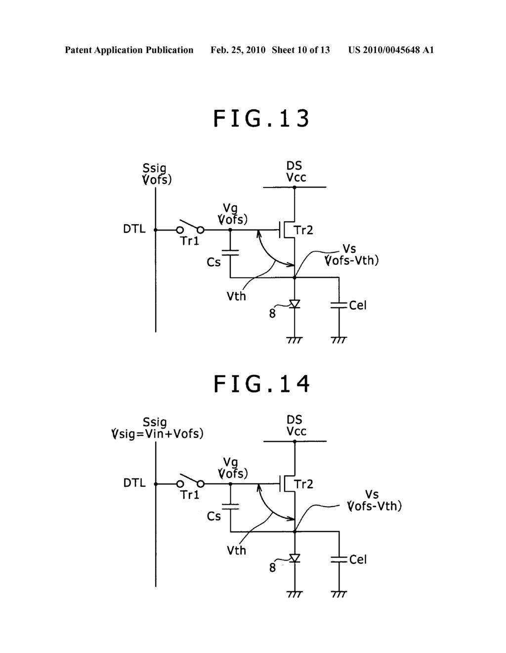 Image display device and driving method of image display device - diagram, schematic, and image 11