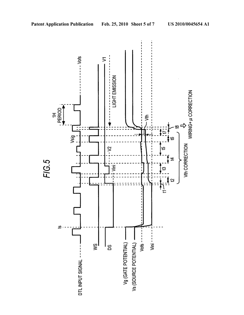 Display device and display drive method - diagram, schematic, and image 06