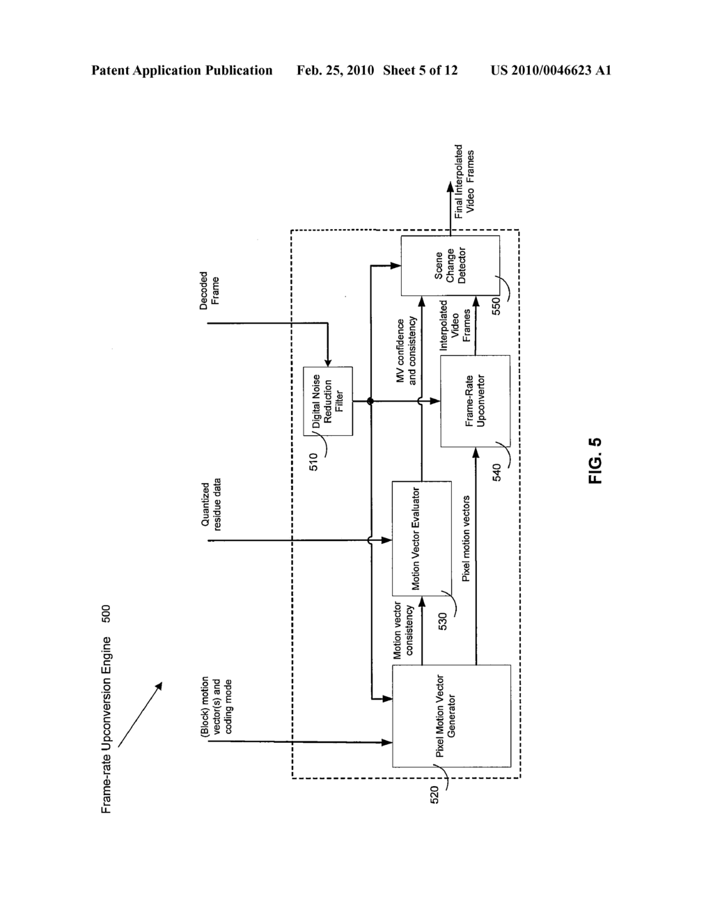 METHOD AND SYSTEM FOR MOTION-COMPENSATED FRAME-RATE UP-CONVERSION ...