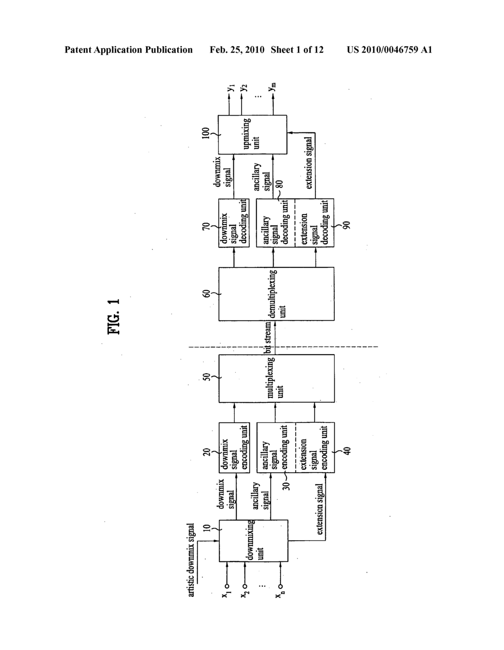 METHOD AND APPARATUS FOR PROCESSING AN AUDIO SIGNAL - diagram, schematic, and image 02
