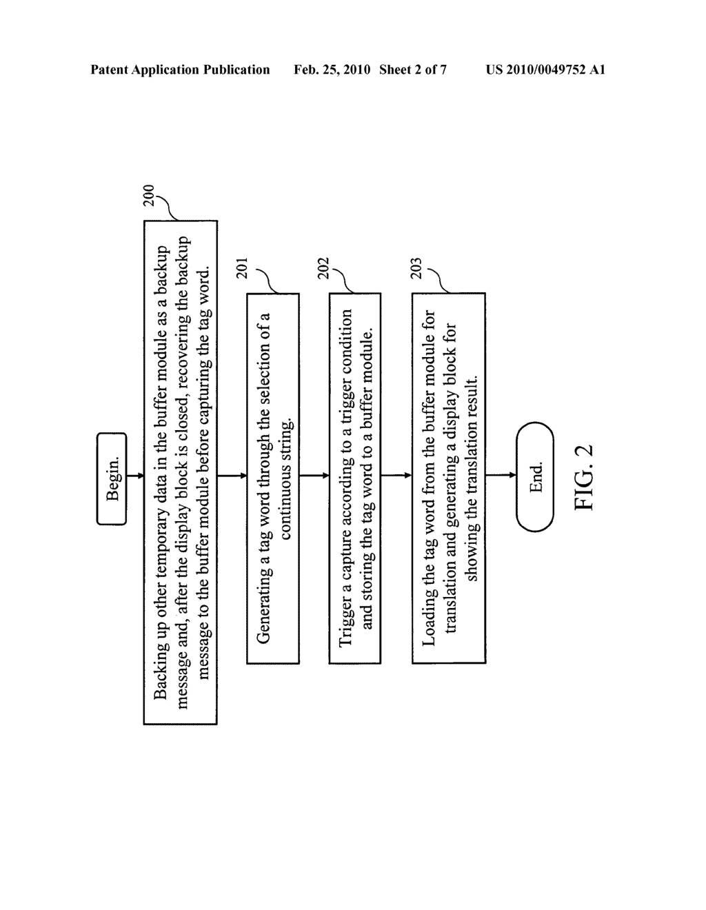 Dynamic word translation system and method thereof - diagram, schematic, and image 03