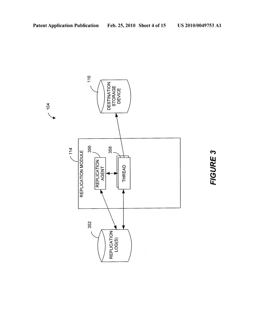 SYSTEMS AND METHODS FOR MONITORING APPLICATION DATA IN A DATA REPLICATION SYSTEM - diagram, schematic, and image 05
