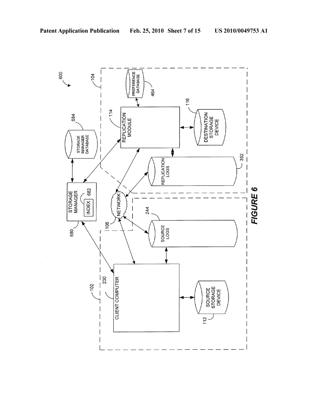 SYSTEMS AND METHODS FOR MONITORING APPLICATION DATA IN A DATA REPLICATION SYSTEM - diagram, schematic, and image 08