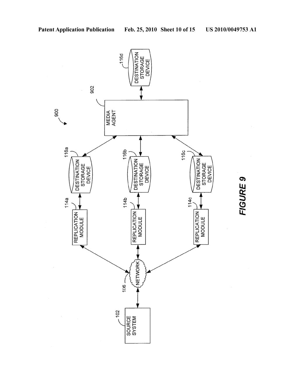 SYSTEMS AND METHODS FOR MONITORING APPLICATION DATA IN A DATA REPLICATION SYSTEM - diagram, schematic, and image 11