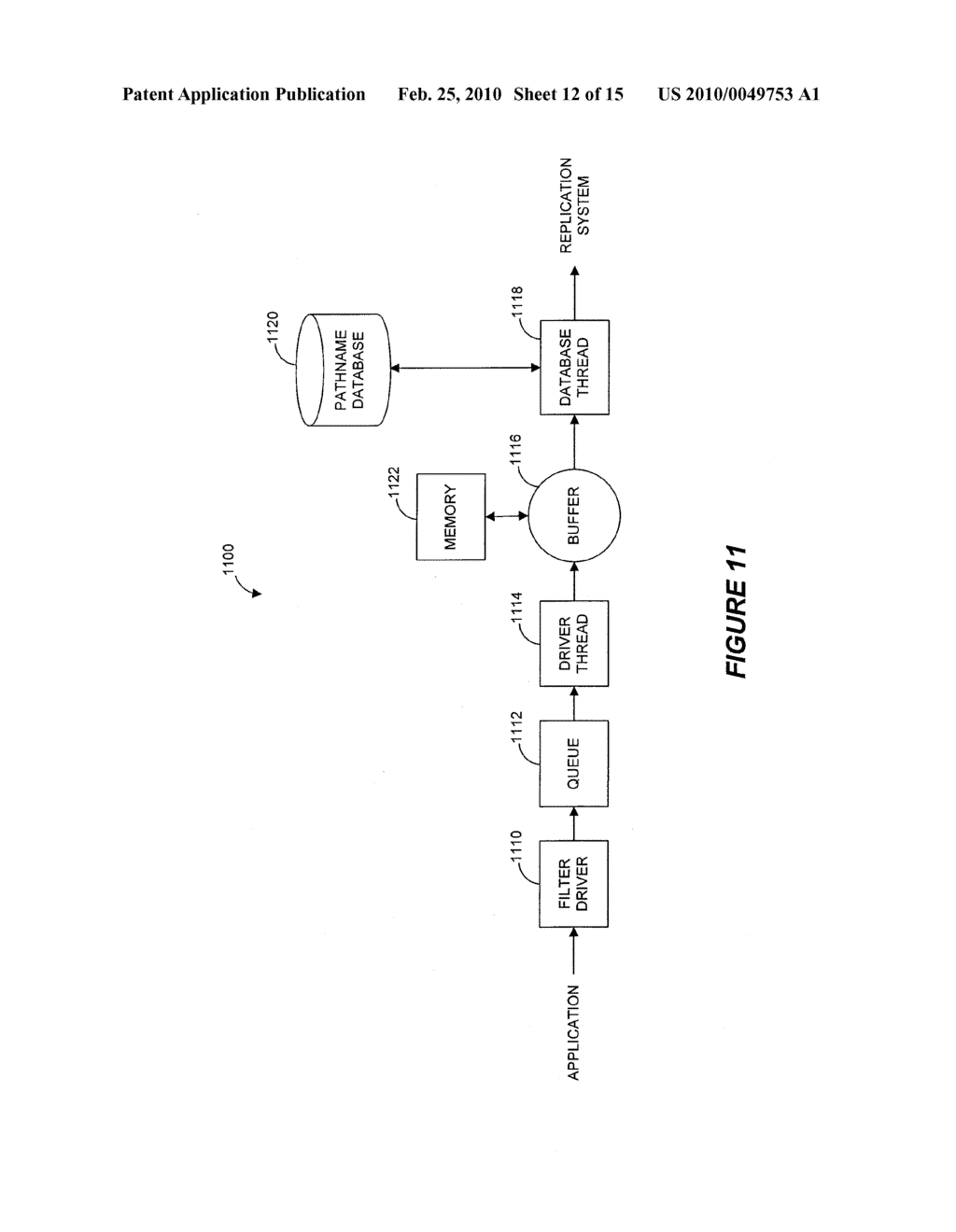 SYSTEMS AND METHODS FOR MONITORING APPLICATION DATA IN A DATA REPLICATION SYSTEM - diagram, schematic, and image 13
