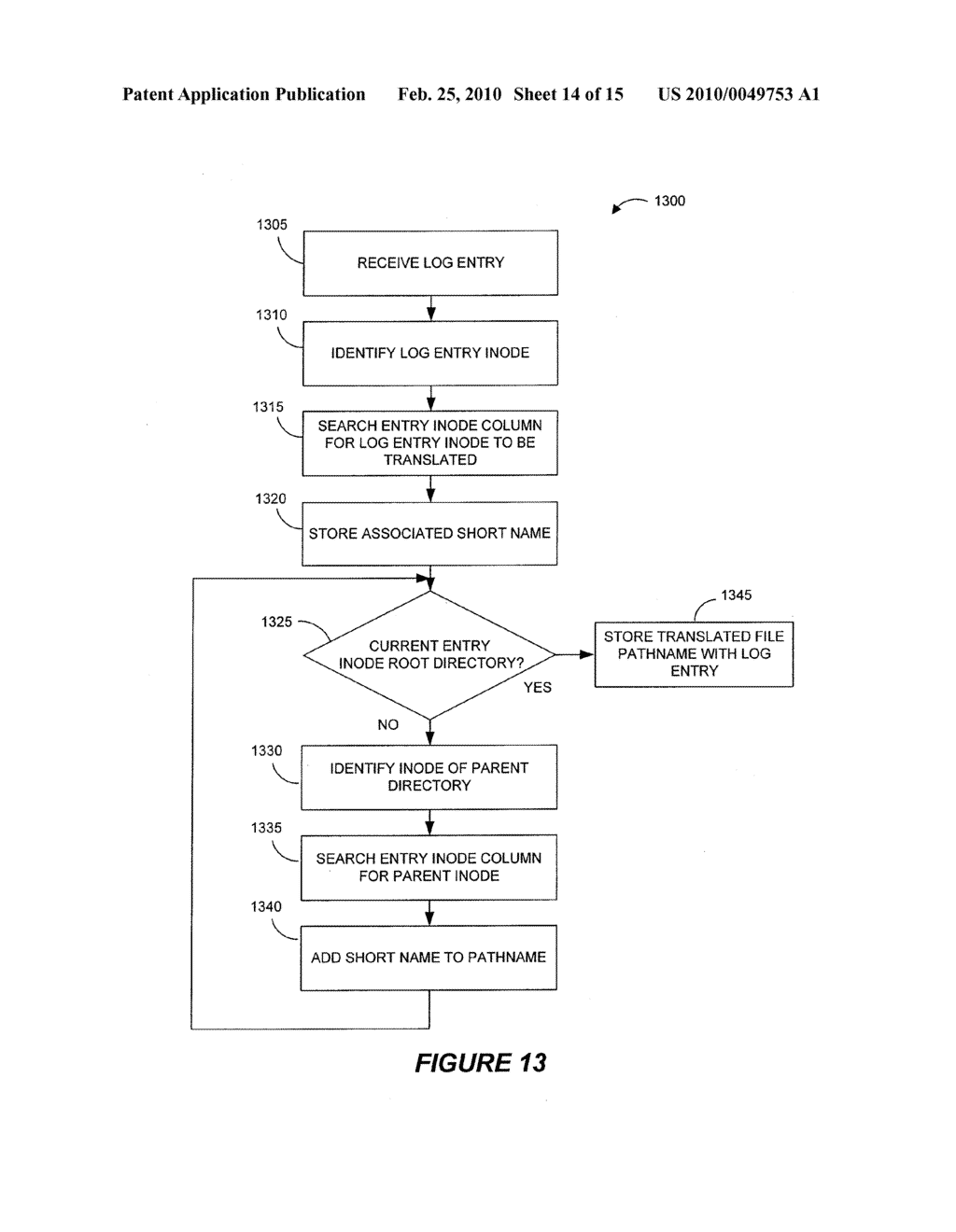 SYSTEMS AND METHODS FOR MONITORING APPLICATION DATA IN A DATA REPLICATION SYSTEM - diagram, schematic, and image 15