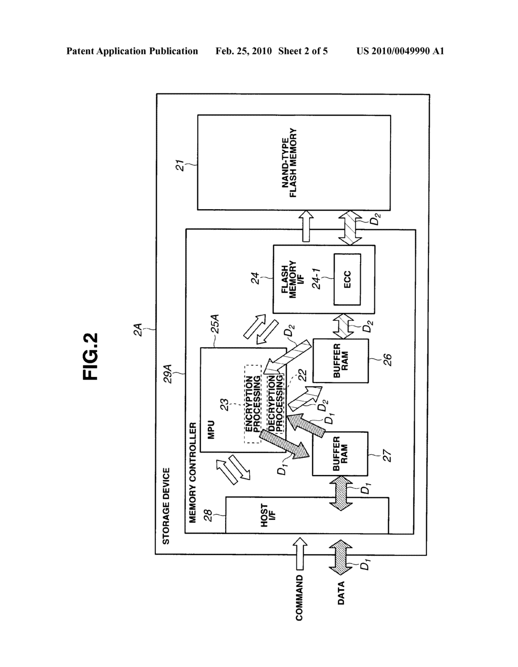 STORAGE DEVICE AND RECORDING AND REPRODUCING SYSTEM - diagram, schematic, and image 03
