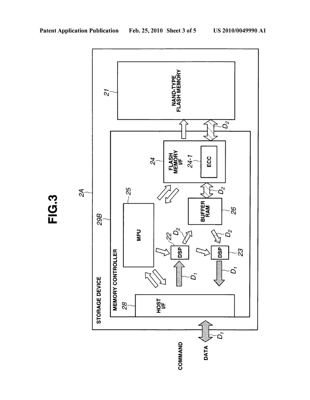 STORAGE DEVICE AND RECORDING AND REPRODUCING SYSTEM - diagram, schematic, and image 04