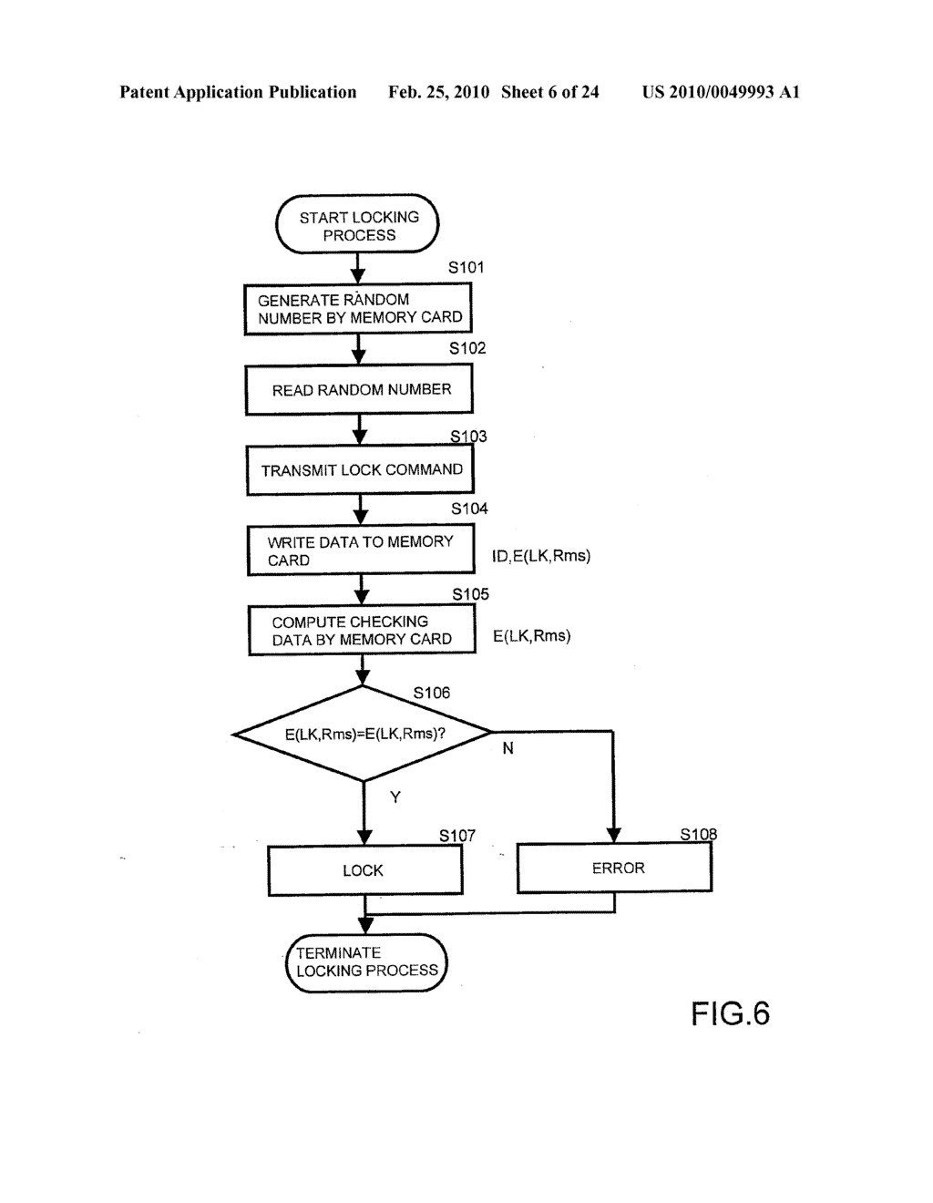SYSTEMS AND METHODS FOR LOCKING AND EXPORTING THE LOCKING OF A REMOVABLE MEMORY DEVICE - diagram, schematic, and image 07