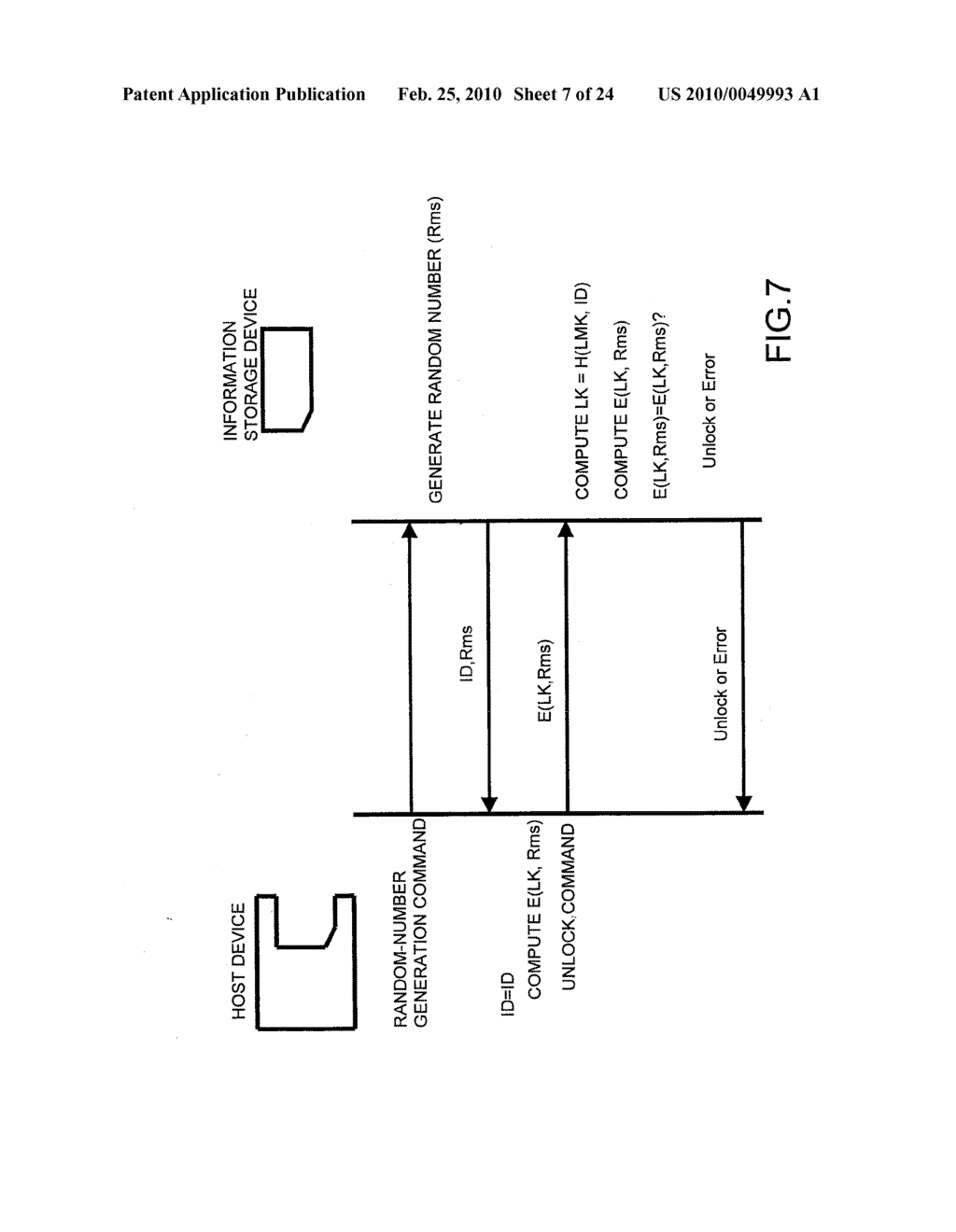 SYSTEMS AND METHODS FOR LOCKING AND EXPORTING THE LOCKING OF A REMOVABLE MEMORY DEVICE - diagram, schematic, and image 08